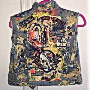 ⚡️Host Pick⚡️Custom R & B Vest ⚡️Size Small ⚡️